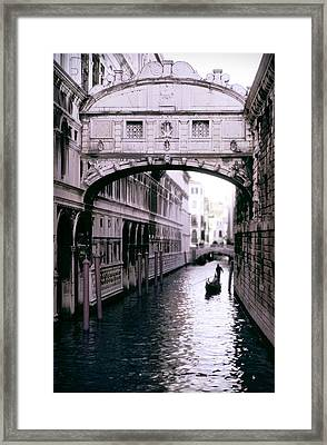 Bridge Of Sighs Framed Print