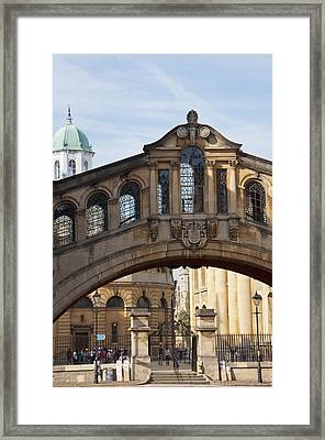 Bridge Of Sighs Oxford Framed Print by Andrew  Michael