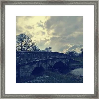 Bridge Of Skies | February Framed Print