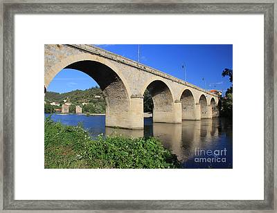Bridge Of The Orb Framed Print by Nelson Smith