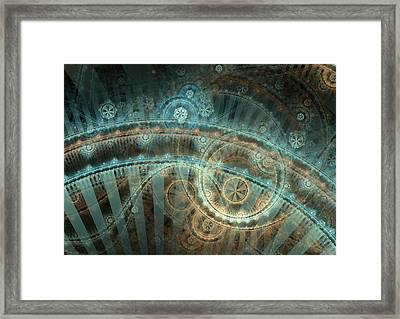 Bridge Of Time Framed Print