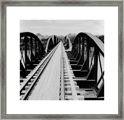 Bridge On The River Kwai Framed Print