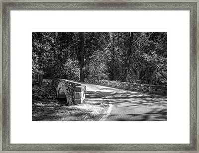 Framed Print featuring the photograph Bridge Over The Merced by Ryan Photography