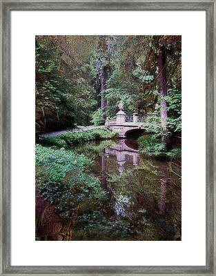 Bridge Over Tomorrow Framed Print