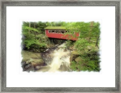 Bridge Over Troubled Water Framed Print by Karol Livote