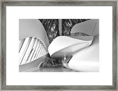 Bridge Pavilion Zaragoza Framed Print by Marek Stepan