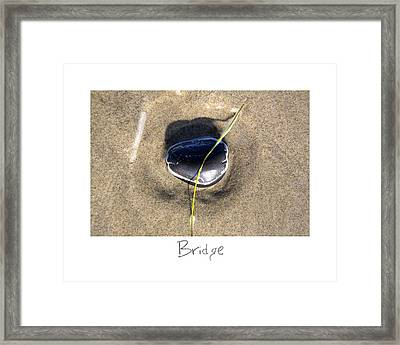 Bridge Framed Print by Peter Tellone