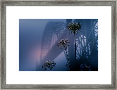 Bridge Scape Framed Print