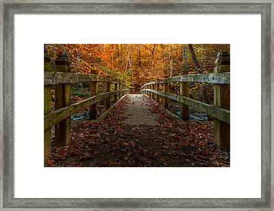 Bridge To Enlightenment 2 Framed Print