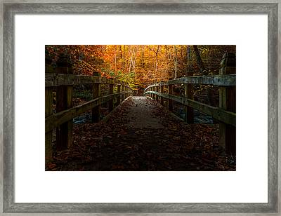 Bridge To Enlightenment Framed Print