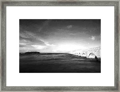 Bridge To Far IIi Framed Print by Jon Glaser