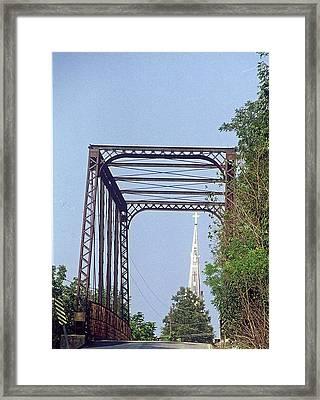 Bridge To God Framed Print