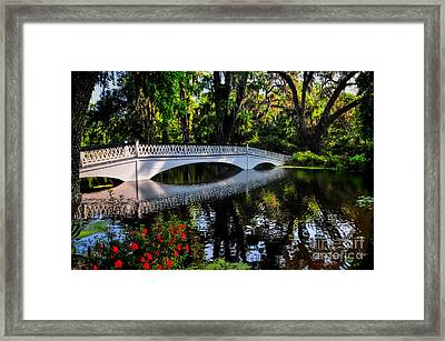 Bridge To Spring Framed Print
