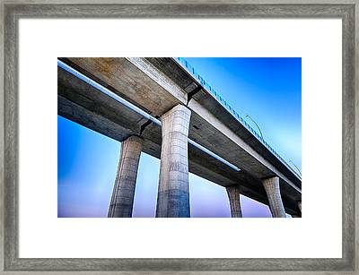 Bridge To The Heaven Framed Print