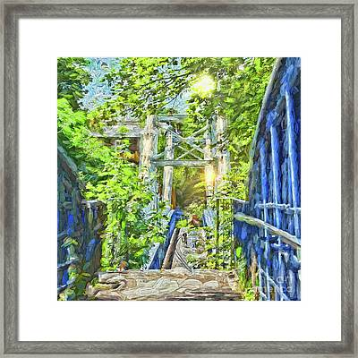 Framed Print featuring the photograph Bridge To Your Dreams by LemonArt Photography