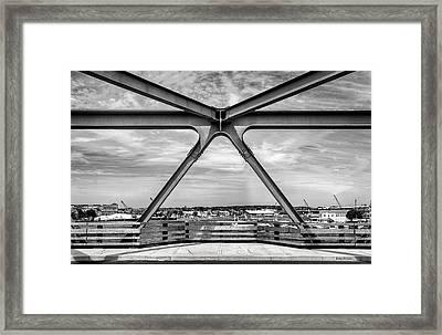 Bridge View In Portsmouth Nh Framed Print