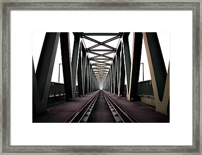 Bridge Framed Print by Zoltan Toth