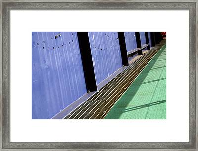 Bridged Framed Print by Jez C Self