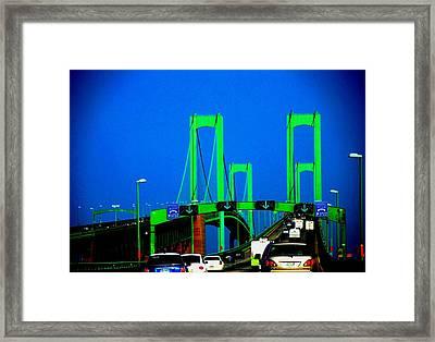 Bridges 1x2010b Framed Print