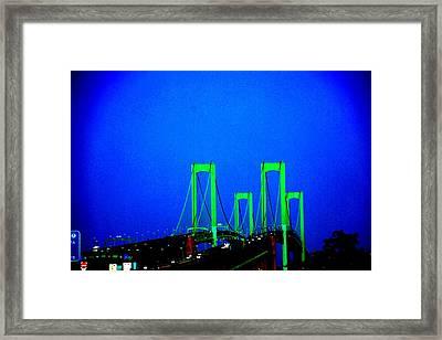 Bridges 2x2010b Framed Print