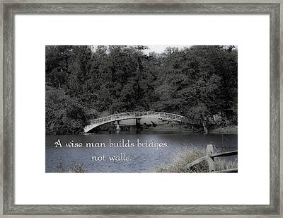 Bridges Framed Print