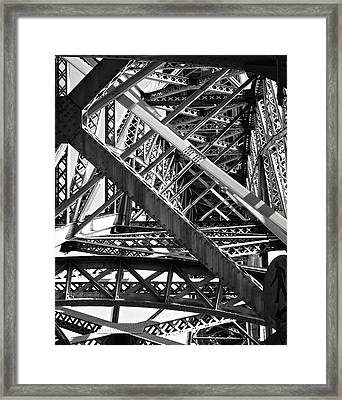 Bridges. Framed Print