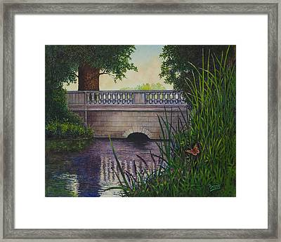 Bridges Of Forest Park II Framed Print by Michael Frank