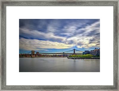 Bridges Framed Print by Rick Berk