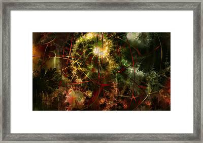 Bridges To Inner Sanctums Framed Print by Stephen Lucas