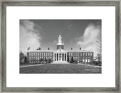 Bridgewater State University Boyden Hall Framed Print by University Icons