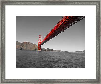Bridgeworks Framed Print