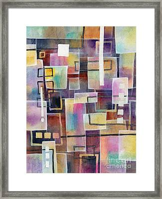 Bridging Gaps Framed Print by Hailey E Herrera