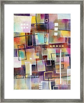Bridging Gaps 2 Framed Print by Hailey E Herrera