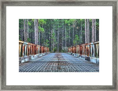 Bridging New River Framed Print by JC Findley