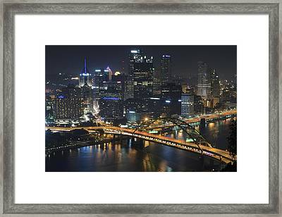 Bridging The Gap Framed Print by Frozen in Time Fine Art Photography