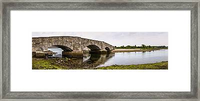 Bridging Time Framed Print