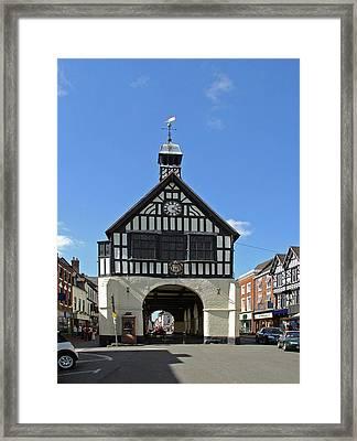 Bridgnorth Town Hall Framed Print by Rod Johnson
