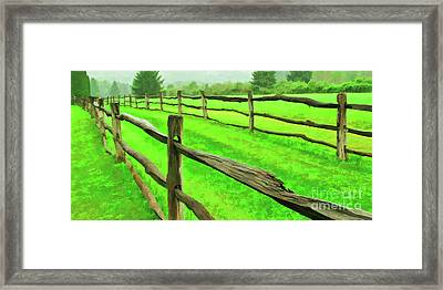 Bridle Trail Framed Print