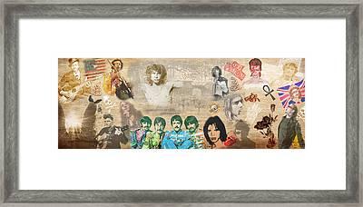Brief History Of Rock'n'roll Framed Print by Stephen Walker