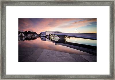 Brigde Over River Framed Print