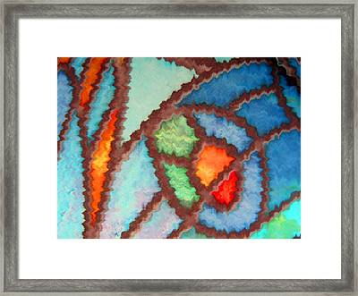 Bright And Bold Framed Print