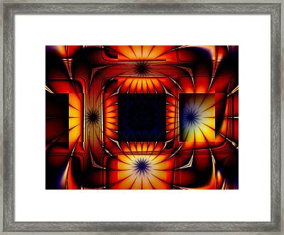 Bright As Can Be Framed Print