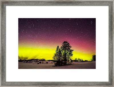 Bright Aurora Framed Print