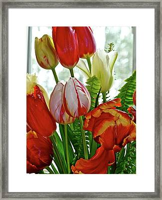 Bright Bouquet Framed Print