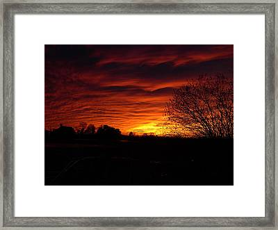 Bright Darkness Framed Print