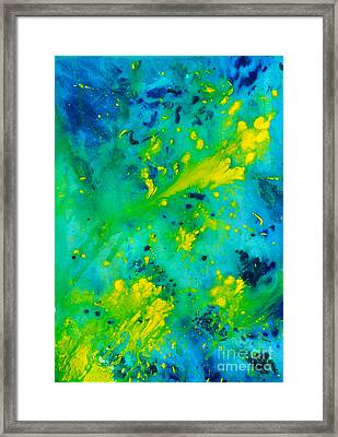 Bright Day In Nature Framed Print