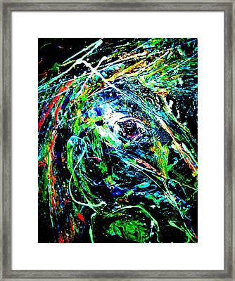 Bright Eyed Night Framed Print