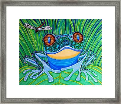 Bright Eyes 2 Framed Print