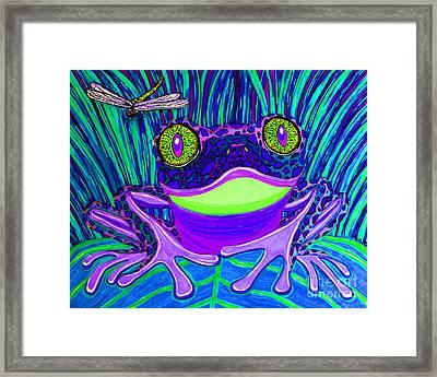 Bright Eyes 3 Framed Print by Nick Gustafson