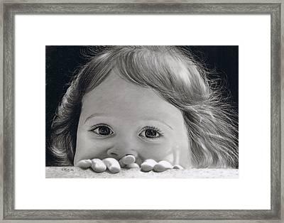 Bright Eyes Framed Print